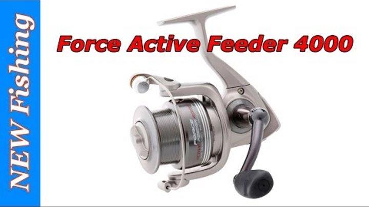Flagman Force Active Feeder 4000 - интересная бюджетная фидерная катушка!