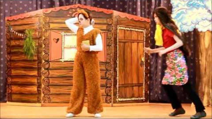 Театральная студия Синяя птица, МАОУ СОШ №4, г Краснокаменск , Сказка Черная шапка с красными уш