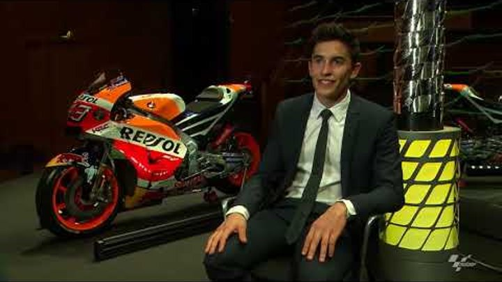 Интервью с чемпионом мира MotoGP Марком Маркесом (русский язык)