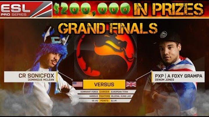 Mortal Kombat X | ESL Season 3 $200,000 Grand Finals | USA's Best vs Europes Best