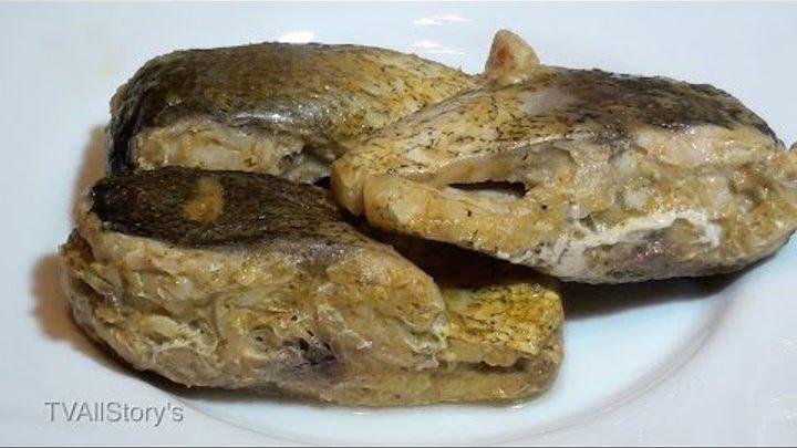 Рыба запеченная в фольге на костре видео