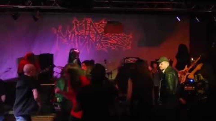 MASS MADNESS (Rus). Deathrash Revenge Fest. Moscow. 18 nov 2017. Afisha club