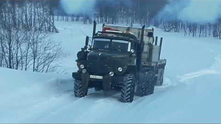 Зимник усть камчатск 2016-2017 Камчатский край