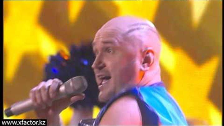 Андрей Зарецкий. Revolution in Paradize. X Factor Казахстан. 3 концерт. Эпизод 12. Сезон 6.