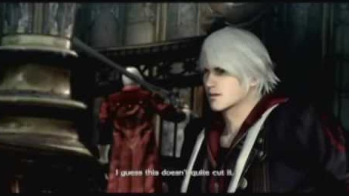 Devil May Cry 4 Неро, поговори с отцом!