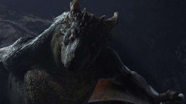 «Создание начальной сцены фэнтези он-ДРАКОН 2015 снежный дракон, мамонты и вечная мерзлота»
