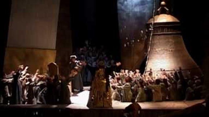 """""""Boris Godunov"""" by Mussorgsky """"Crowning"""" Nikita Storojev (Boris) May 2010"""