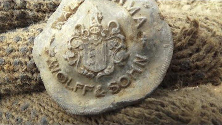 Коп на вспаханном поле Серебро колокольчик и другие находки часть 1