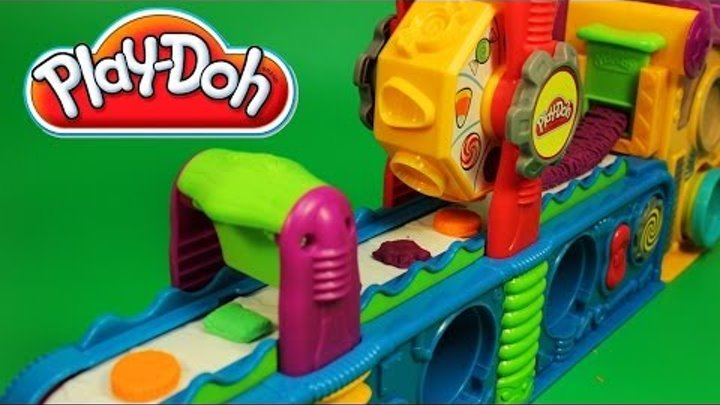 Play Doh Fun Factory Play Doh Mega Fun Factory Hasbro Toy Review