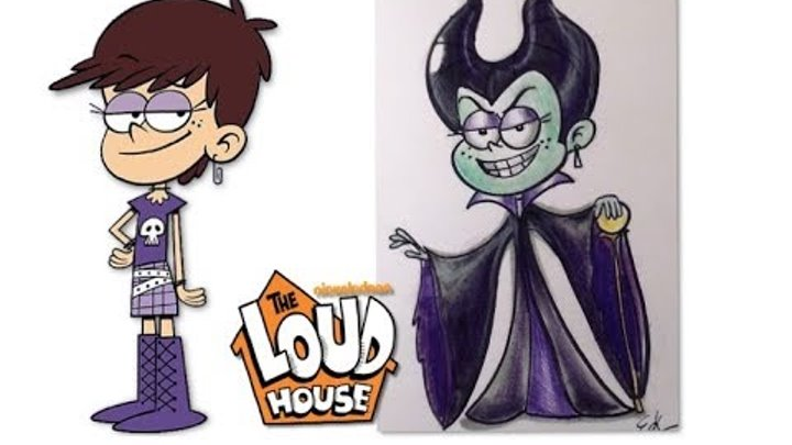 The Loud House Characters as Villains