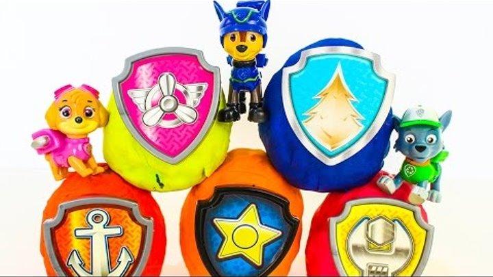 Сюрпризы Щенячий патруль смотреть новые серии Развивающие мультики про игрушки Щенячий патруль 2017