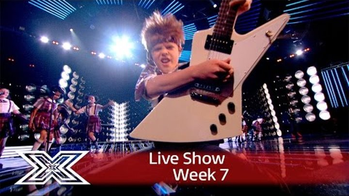 The cast of School of Rock open the Live Results Show | The X Factor UK 2016