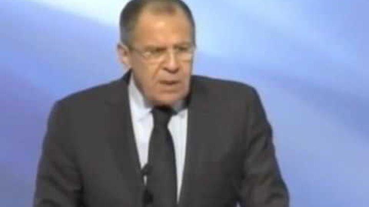 речь С.Лаврова на всемирном съезде русского мира