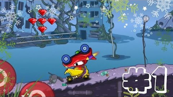 Мультик ИГРА для детей про МАШИНКИ - МАШИНА ест МАШИНУ, мобильная игра [#1] Car Eats Car