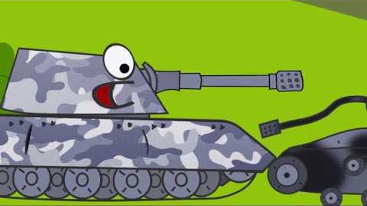 Мультики про Танки World of Tanks Смешные и Комедийные Новые Серии