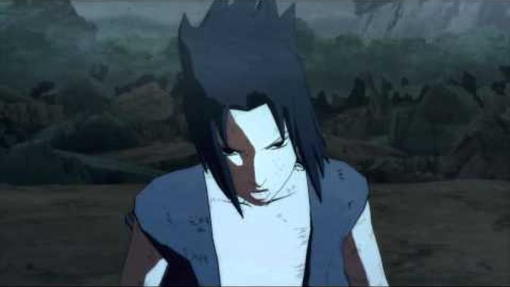 Naruto Ultimate Ninja Storm 2 | Sasuke vs Itachi | Boss Battle Scene | Japanese