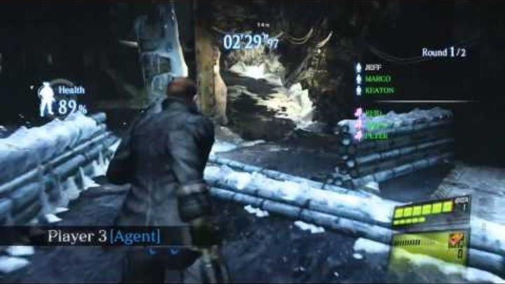 Resident Evil 6 - Siege Gameplay Video