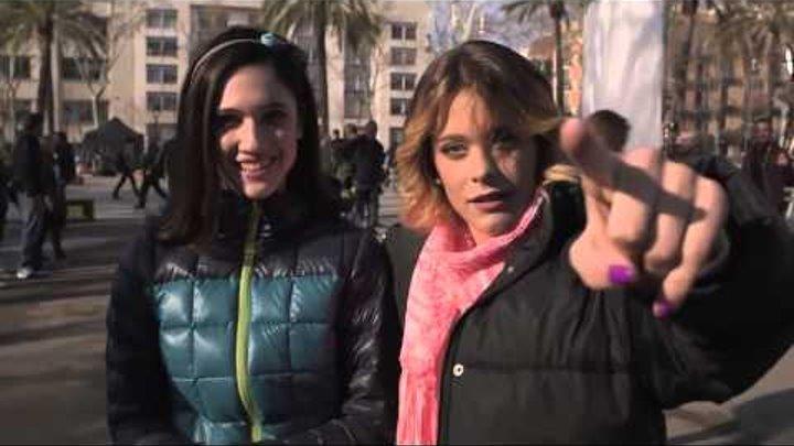Съёмки Виолетта 3 сезон в Барселоне часть 1