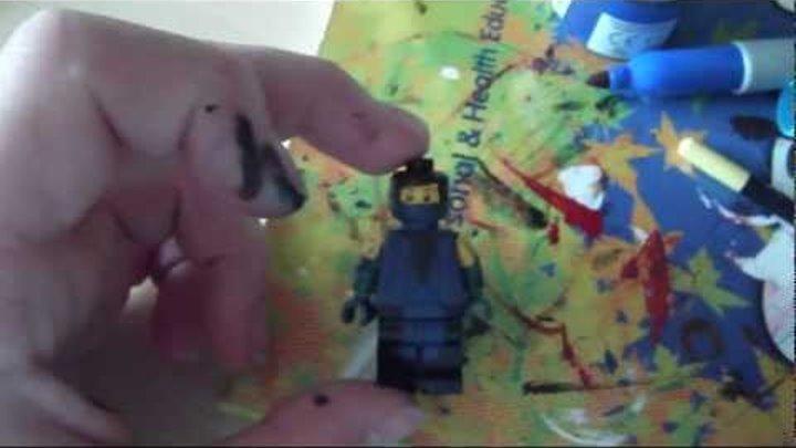 Lego Custom Mortal Kombat Sub Zero