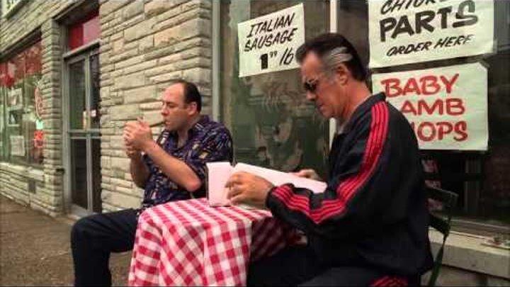 """Клан Сопрано 2 сезон - """"Люди могут, блять, пострадать"""""""