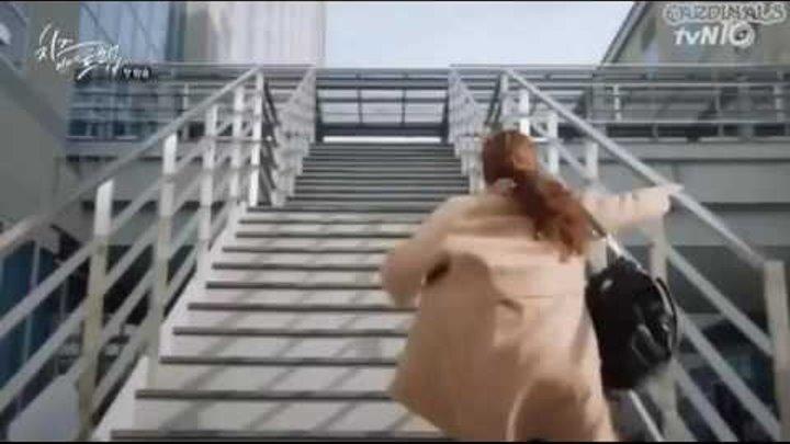Смешной момент из дорамы Сыр в мышеловке 1 серия