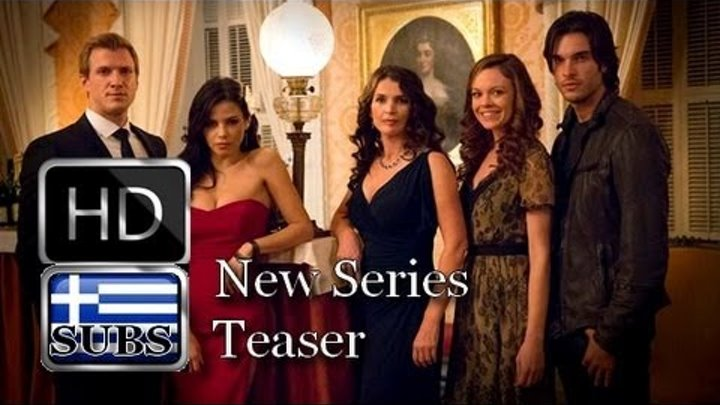 Witches of East End new series 2013 The Witching Hour is Coming Teaser 1 with Greek subs
