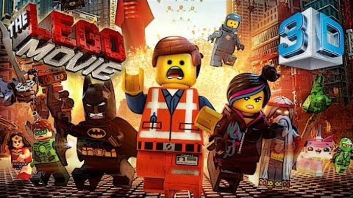 The Lego movie 3D Everything is awesome
