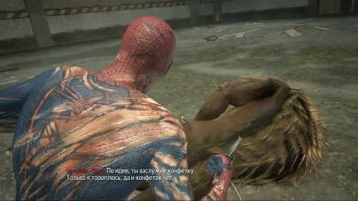новый человек паук прохождение № 4