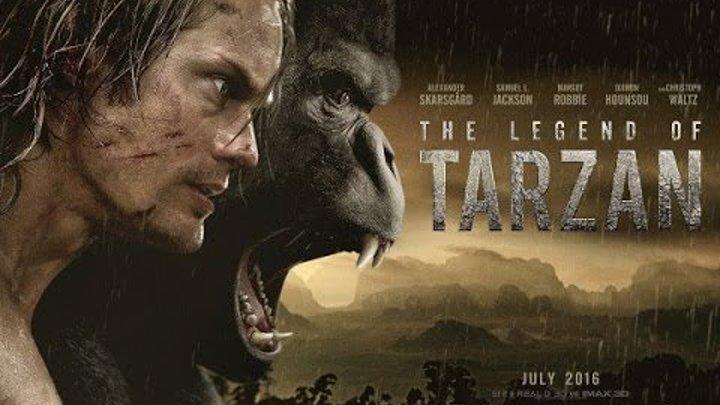 Тарзан. Легенда - Дублированный трейлер HD. The Legend of Tarzan -Teaser Trailer [HD]