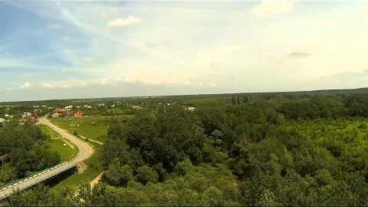 Полёт на ковре-самолете над полянами Сказочного Края