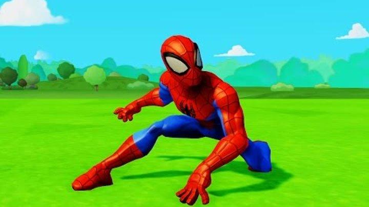 Все серии подряд мультик игра про машинки Тачки Дисней и Человек Паук Spider-Man & Disney Pixar Cars