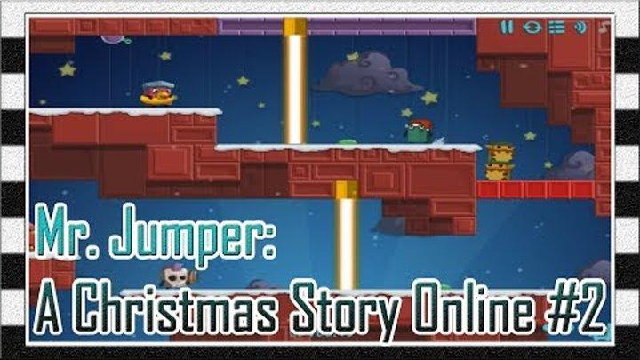 Игра Мистер Прыгун: Рождественская История Онлайн #2 - Прохождение Игры с 9 до 14 Уровня / Levela