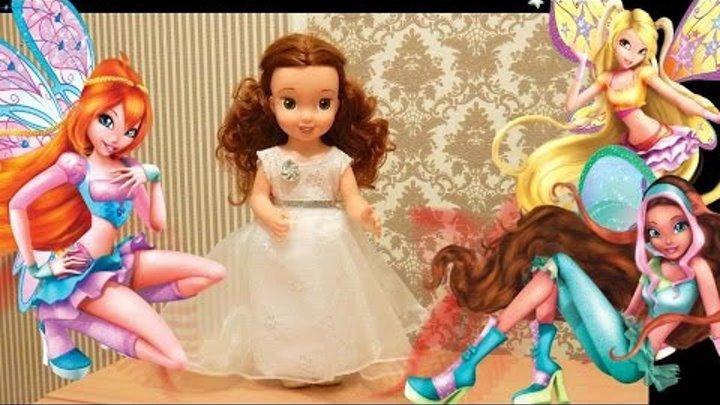 ОООчень красивое платье для куклы легко и просто за 10 мин Одежда для кукол своими руками