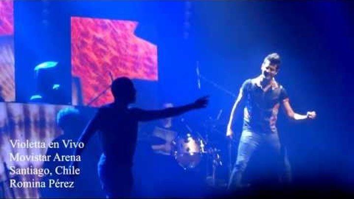 """""""Tu foto de verano"""" Violetta en vivo - Chile 2013"""