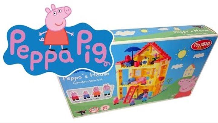"""Мультик с игрушками из мультфильма """" Свинка Пеппа"""": Детская площадка: Развивающие игрушки для детей"""