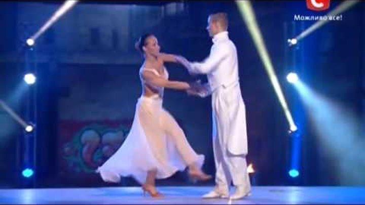 Танцуют все 6 сезон- Танец с огнем Алиса и Антон. 15.11.2013