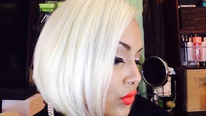 Get white blonde hair
