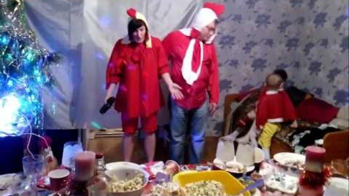 """Новогодняя сказка """" Курочка ряба"""" , тематическая вечеринка, смешное видео"""