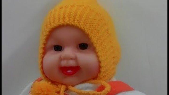 Baby Cap for born baby in hindi knitting (छोटे बच्चे के टोपी कैसे बनाये )
