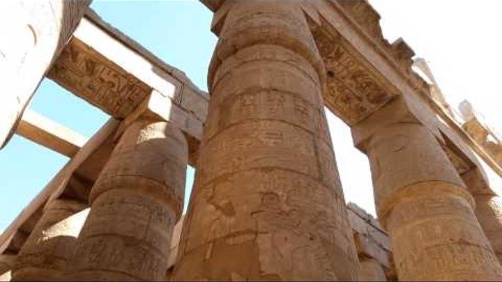 Луксор, Египет, Древние Фивы, Карнакский Храм