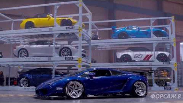 Форсаж 8.Прямо со съемок фильма. Fast Furious 8