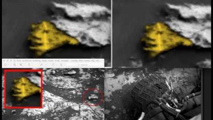 Alien Face Found On Mars Taken 2 Days Ago By NASA Rover! Aug 2018, UFO Sighting News.