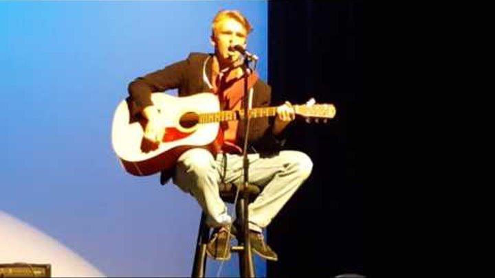 Simon Sharipoff. Sugar Mountain. 2016 Cascade High School talent show.