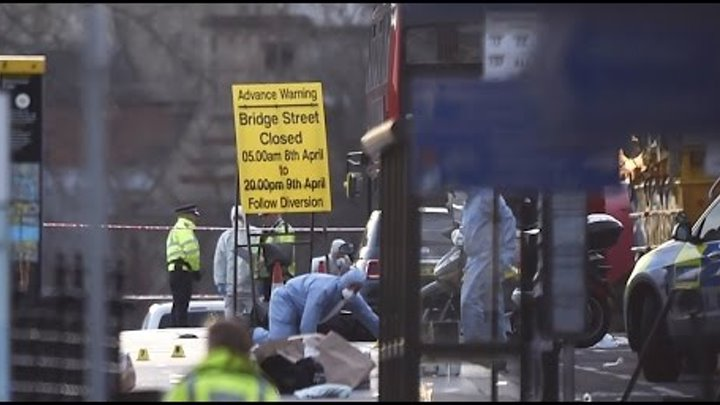 Подробности террористической атаки на Вестминстерском мосту в Лондоне
