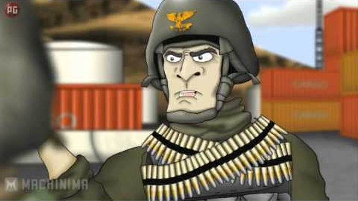 Battlefield Friends / Друзья по Battlefield: Полковник 100 звёзд (1 сезон 13 серия) [РУС] HD