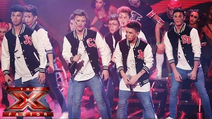 Stereo Kicks sing Backstreet Boys' Rock Your Body | Live Week 4 | The X Factor UK 2014