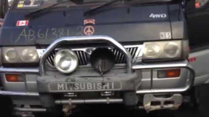 Mitsubishi Delica L300 4D56 2 5L Turbo Diesel Engine Swap For Sale $2000  243K KMS 150K Miles