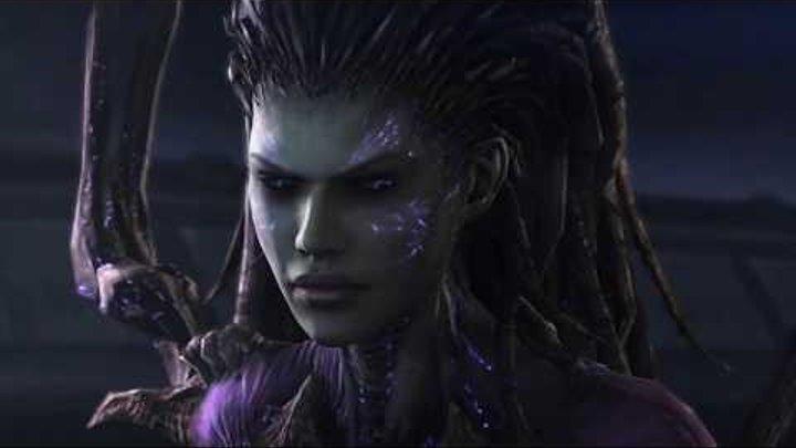 История королевы клинков ¦ Starcraft 2 ¦ Все видео о Саре Кэрриган