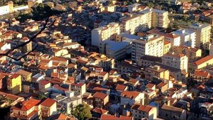 Остров Сицилия с высоты птичьего полета.Жизнь в Италии на острове Сицили