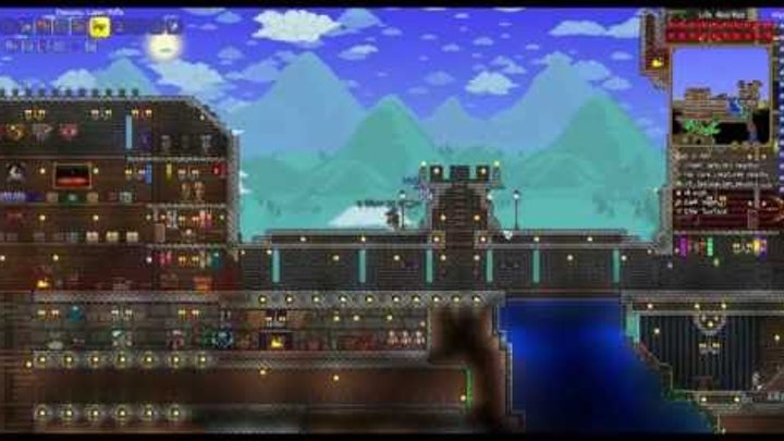 Terraria 1.3.2.1 Expert Mode #23 Новая руда, святой биом, ломаем алтарь. Кобальт.